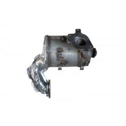 Kfzteil Rußpartikelfilter, Partikelfilter DPF Nissan Qashqai 1.6 DCI - 208A00653R 2090000Q1B 2090000Q0N