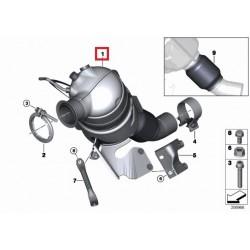 Rußpartikelfilter, Partikelfilter DPF - BMW 118d / 120d - 2.0d - 18307798309